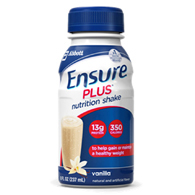 Abbott 57263 Ensure Plus Vanilla Nutritional Supplement-24/Case