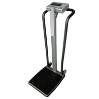 Befour WH-1070 Tilt & Roll Handrail Scale with Digital Height Rod