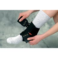 Core Products 6350 Powerwrap Ankle Blk (Univ)