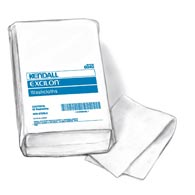 "Covidien 6363 Kendall White Washcloths-10"" x 13""-750/Case"