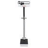 Detecto 448 400 lb Capacity Scale w/ Height Rod, Wheels, & Hand Post