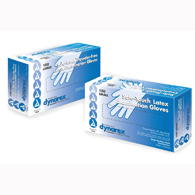 Dynarex 2338 Safetouch Latex Exam Gloves-1000/Case