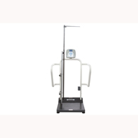 Health o meter 1100KGHR Digital Platform Scale with Height Rod-KG Only