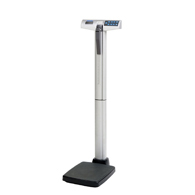 Healthometer 500KL 500 Lbs/227 Kg Cap Scale w/ Height Rod & AC Adapter