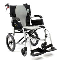 Karman Ergo 2512 Flight Transport Wheelchair w/ Companion Brakes