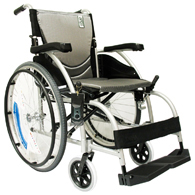 Karman S-Ergo 105 Ergonomic Wheelchair w/ Fixed Footrest