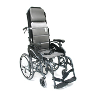 "Karman VIP515 Tilt In Space Wheelchair-20"" Wheels & Elevating Legrest"