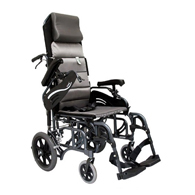 Karman VIP515 Tilt In Space Reclining Transport Wheelchair