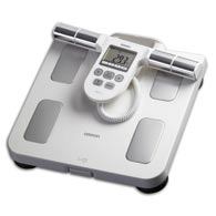 Omron HBF-510W 330 Lb/150 kg Capacity Full Body Composition Monitor